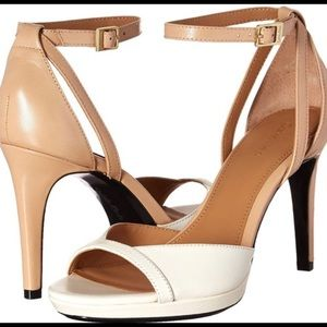 Calvin Klein Cream/Tan Persy Heels Sz 36 (5.5)